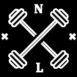 NL Mini Logo - White - wider