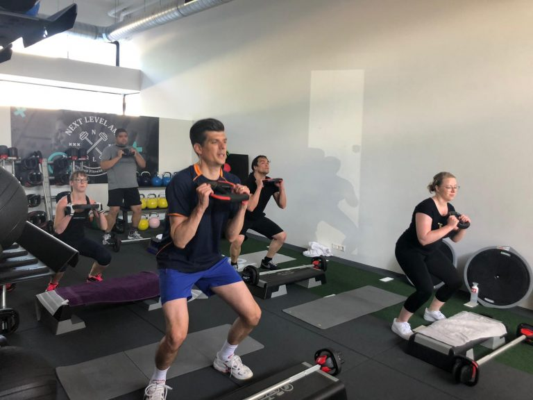 next level ams amsterdam amstelveen boutique fitness center functional women bodypump grit strength empowering lifestyle coach Tal Assa natural healthy lose weight summer body goals grand opening gym abn amro